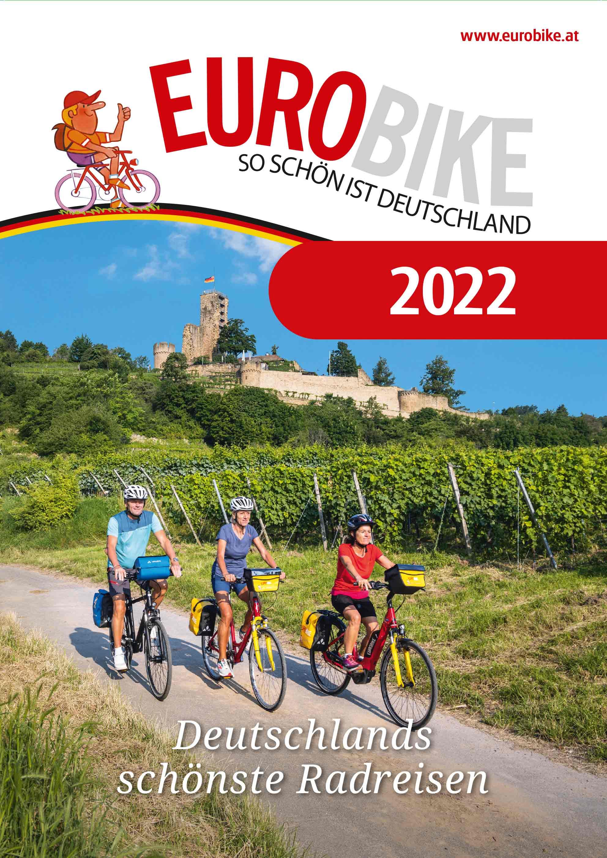 Eurobike Radreisen Deutschland Katalog