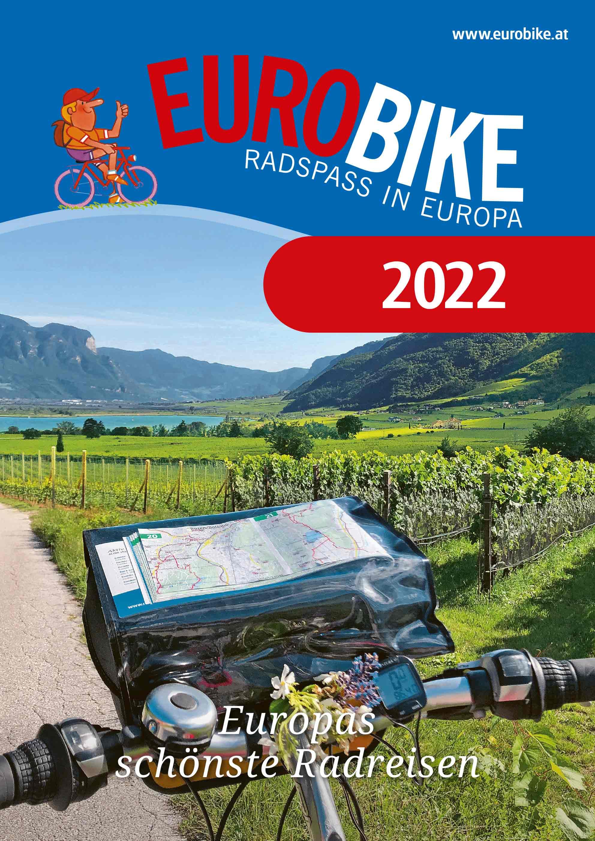 Eurobike Radreisen Europa Katalog