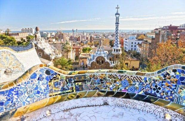 Spanien Barcelona Gaudí