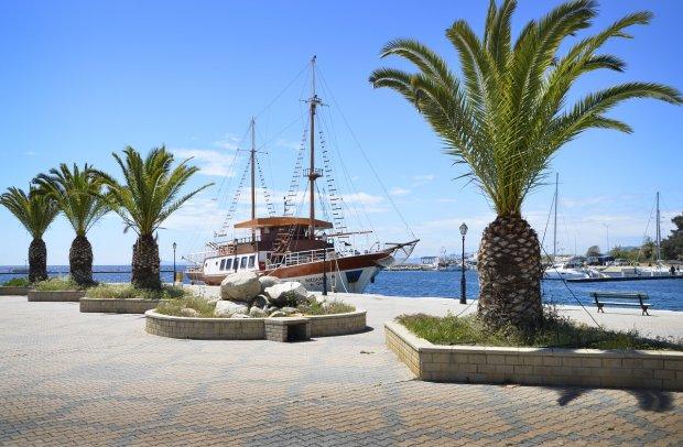 Chalkidiki Hafen