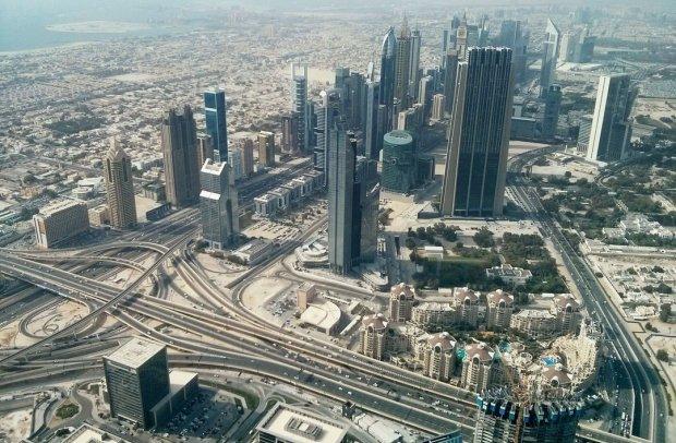 Dubai, Die Stadt von oben
