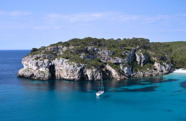 Balearen Formentera Meer