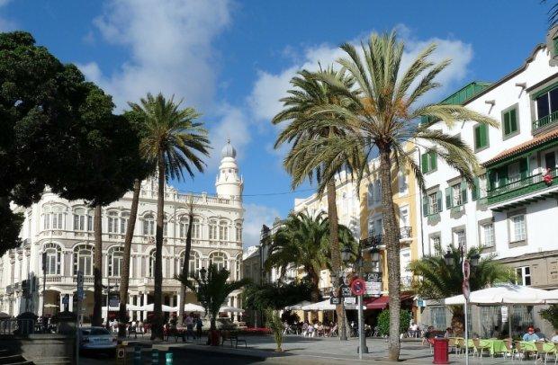 Spanien Gran Canaria Stadt