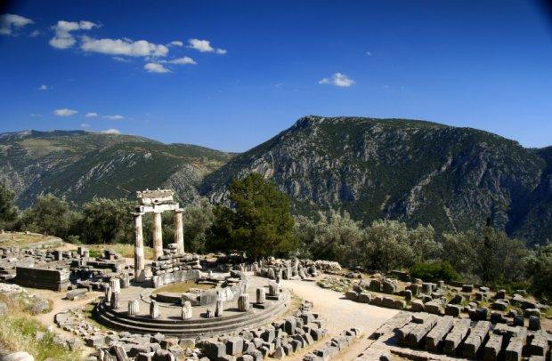 Griechenland Ruinen