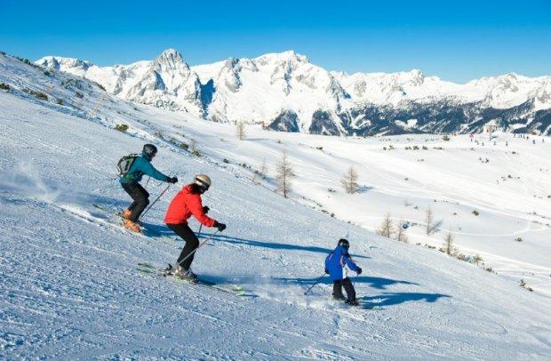 Österreich Skigebiet Hinterstoder Höss