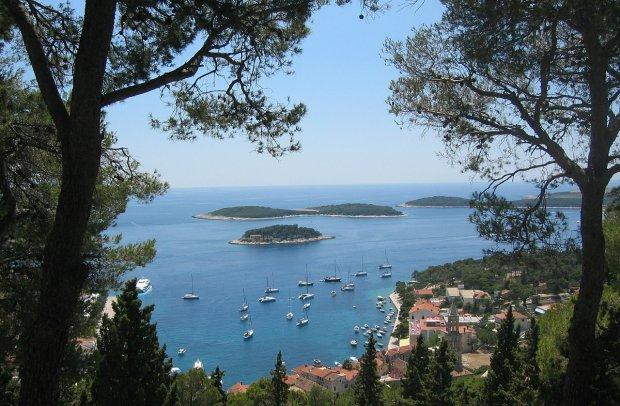 Kroatien Bucht in Hvar