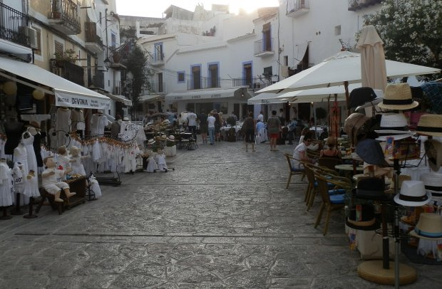 Balearen Ibiza Altstadt von Tardeo