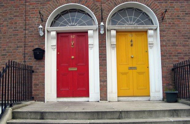 Irland Dublin Türen