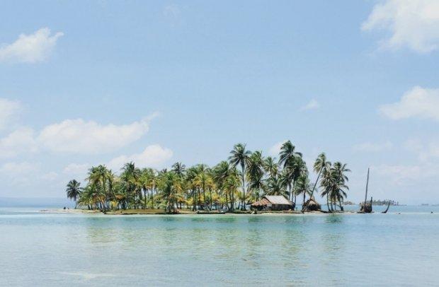Karibik Kleine Insel