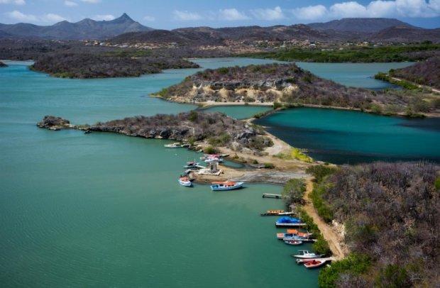 Karibik Vogelperspektive