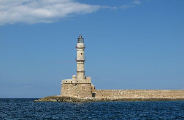 Kreta Leuchtturm