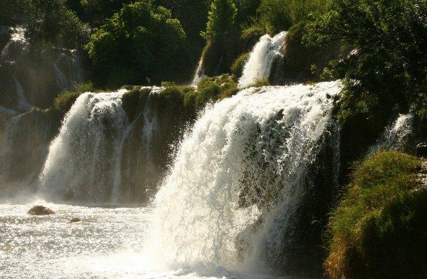 Kroatien Wasserfälle in der Kvarner Bucht