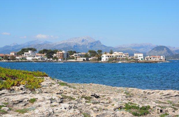 Mallorca Meer und Gebäude