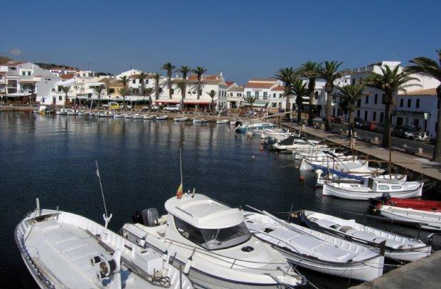Menorca Kleiner Hafen