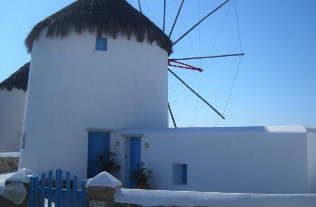 Mykonos Windmühle