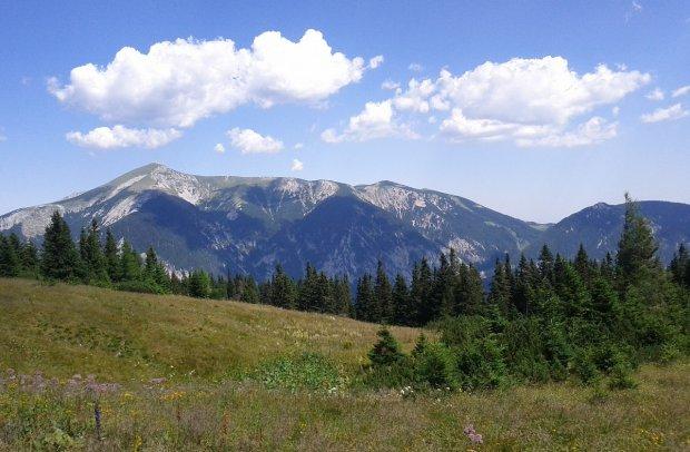 Österreich Rax Schneeberg