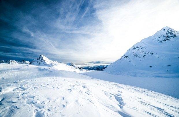 Österreich Skigebiet St.Anton am Arlberg