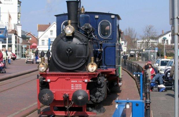 Ostfriesische Inseln Borkum Lokomotive