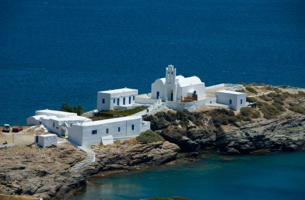 Griechenland Paros Serifos und Sifnos