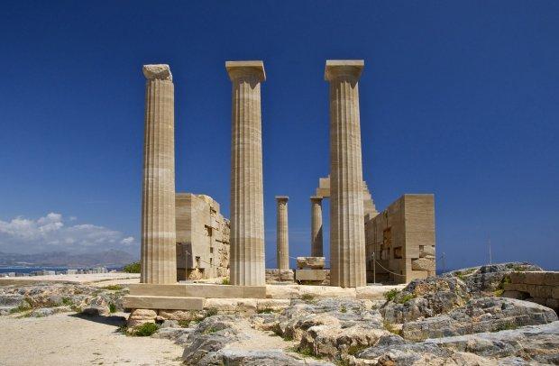 Rhodos Antike Tempelanlage