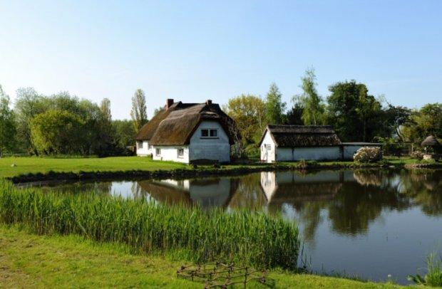 Ostsee Rügen Häuser