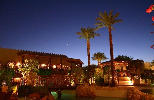 Ägypten Sharm El Sheikh bei Nacht