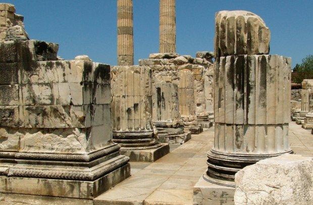 Türkei Tempelruinen von Didyma
