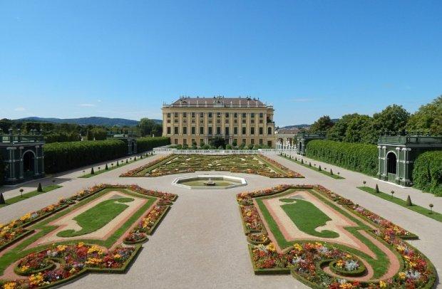 Österreich Wien Schloss Schönbrunn