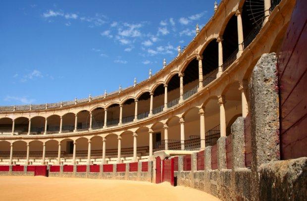 Spanien Stierkampfarena