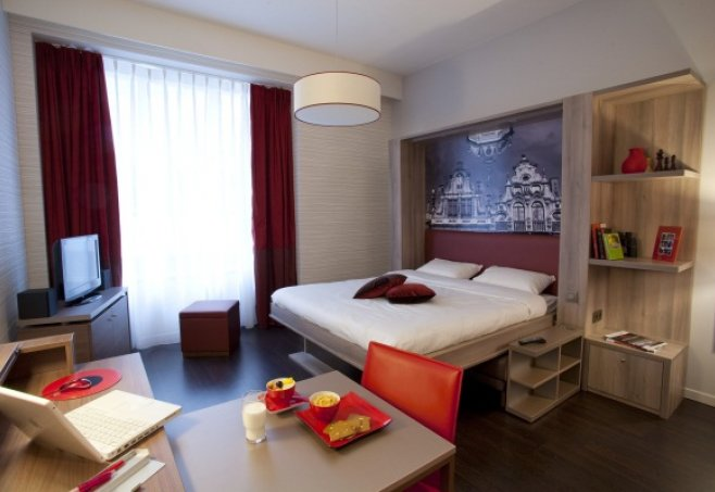 adagio aparthotel m nchen city in m nchen bayern familienhotel. Black Bedroom Furniture Sets. Home Design Ideas