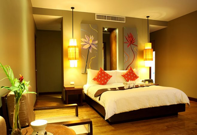 hotel chong fah beach resort in bang niang beach khao lak. Black Bedroom Furniture Sets. Home Design Ideas