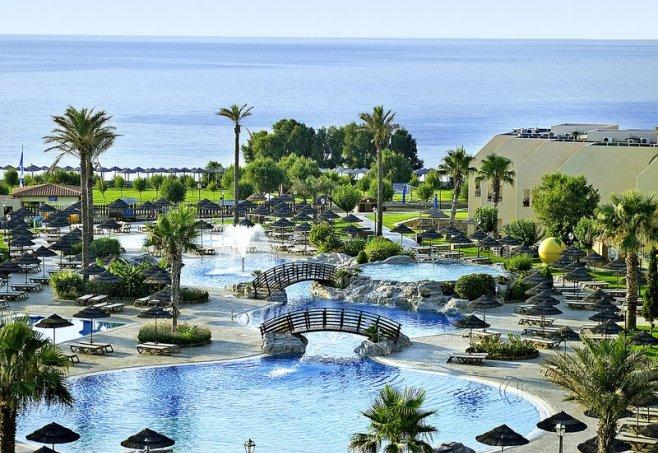 Club Atlantica Aegean Blue In Kolymbia Rhodos Familienurlaub