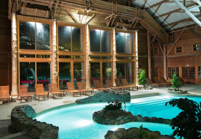 Disney s davy crockett ranch paris familienhotel for Piscine hotel davy crockett