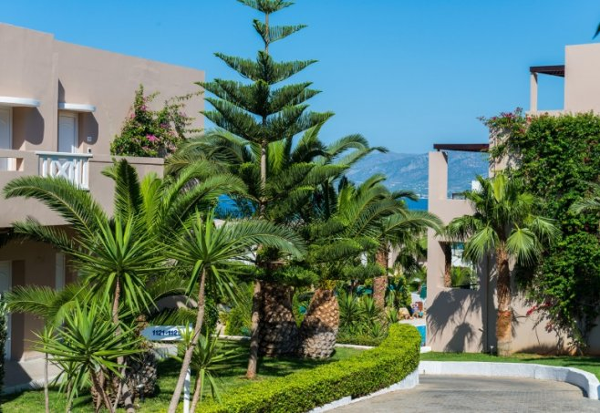 Chersonissos Grand Hotel Holiday Resort Lage