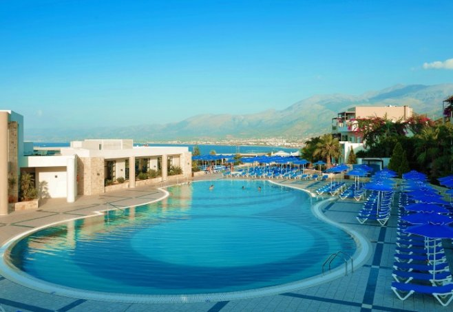 Chersonissos Grand Hotel Holiday Resort Lage