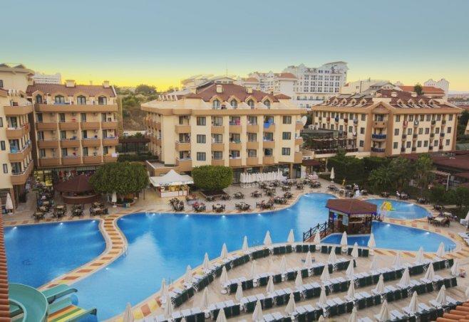 Trendy Hotel Aspendos Beach Turkey