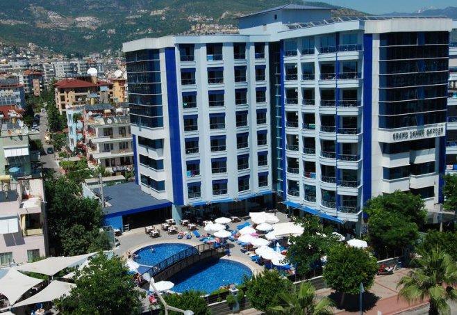 hotel grand zaman garden in alanya turkische riviera With katzennetz balkon mit grand zaman garden holidaycheck