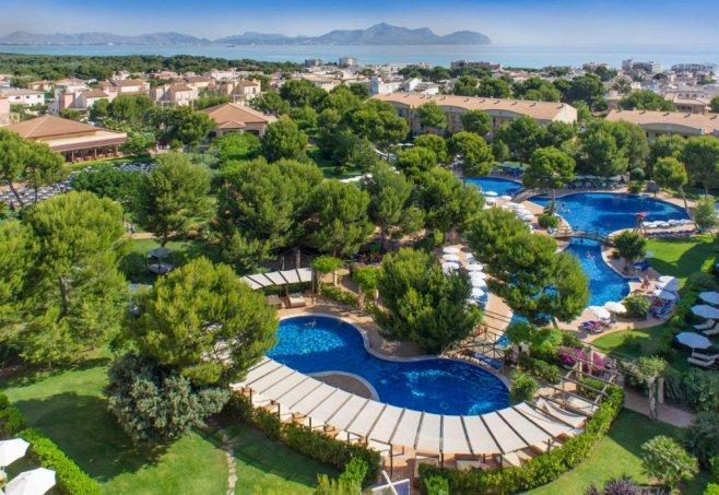 Hotel zafiro mallorca in can picafort mallorca for Style hotel mallorca