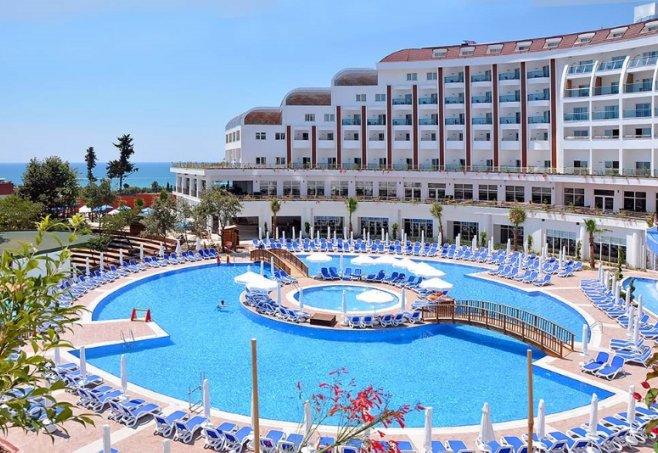 Side By Side Kühlschrank Neckermann : Side prenses resort hotel und spa in side türkische riviera