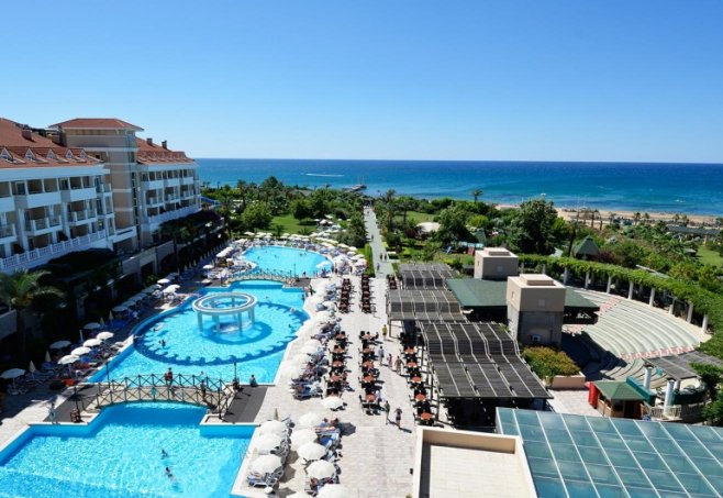 Trendy Hotel Aspendos Beach Side