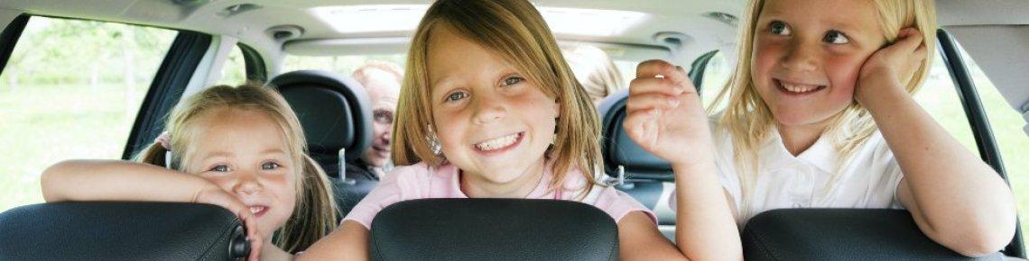 Autofahrt mit Kindern