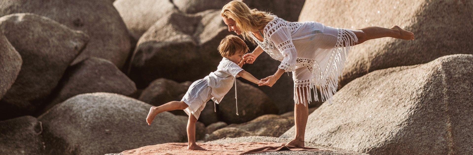 Familienurlaub im Yoga-Hotel