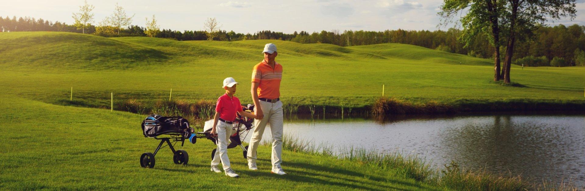 Golfurlaub mit Kindern
