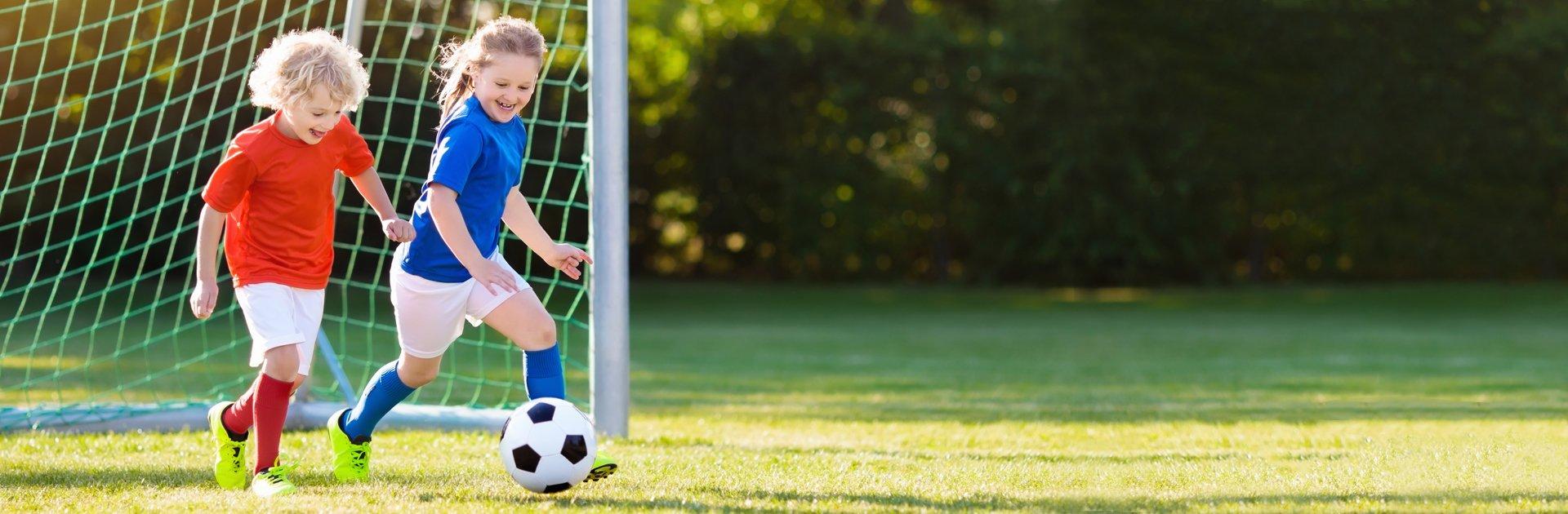 Fußballschule im Familienurlaub