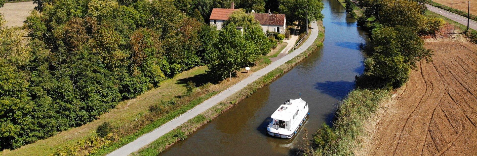 Hausbooturlaub Burgund und Saône