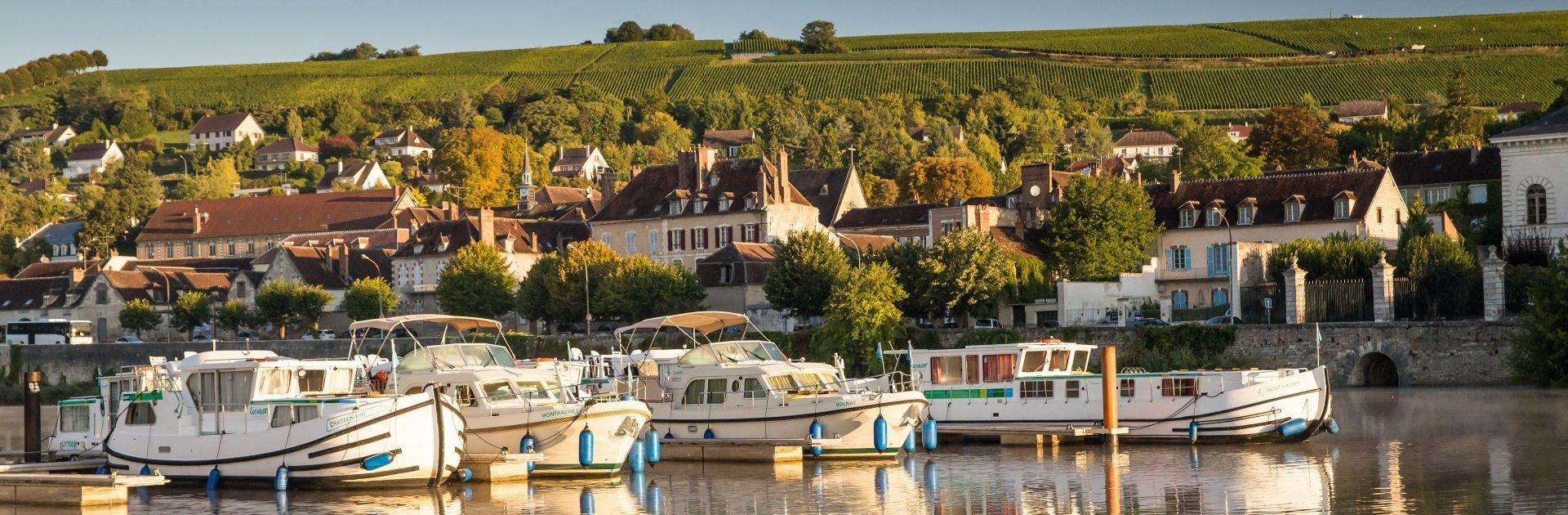 Hausbooturlaub Burgund und Nivernais