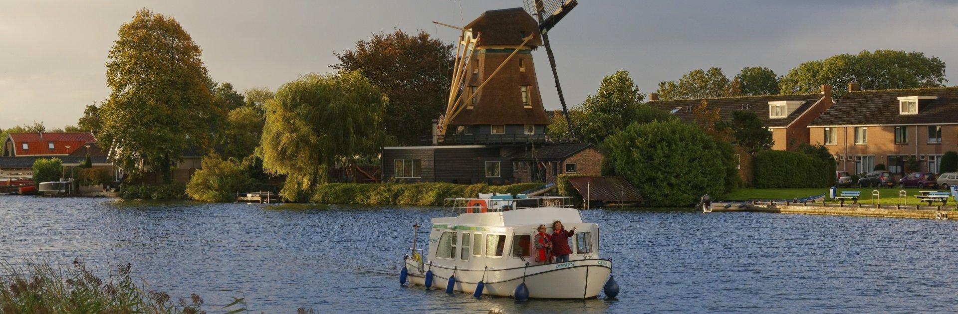 Hausbooturlaub Holland