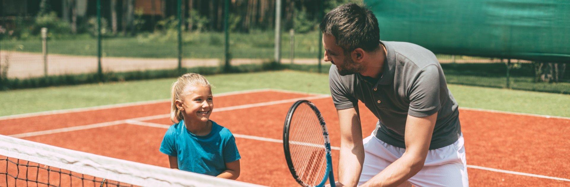 Tenniscamp im Familienurlaub