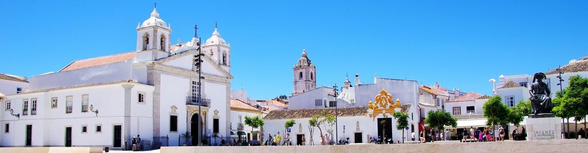 Ausflugsziel Altstädte von Faro und Lagos