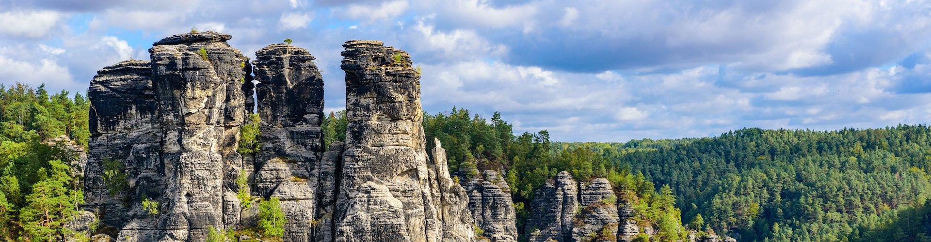 Ausflugsziel Felsenburg Neurathen